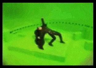 """<i>Motion Parallax</i> """"<i>bullet time</i>"""" from the film """"<i>The Matrix</i>"""""""